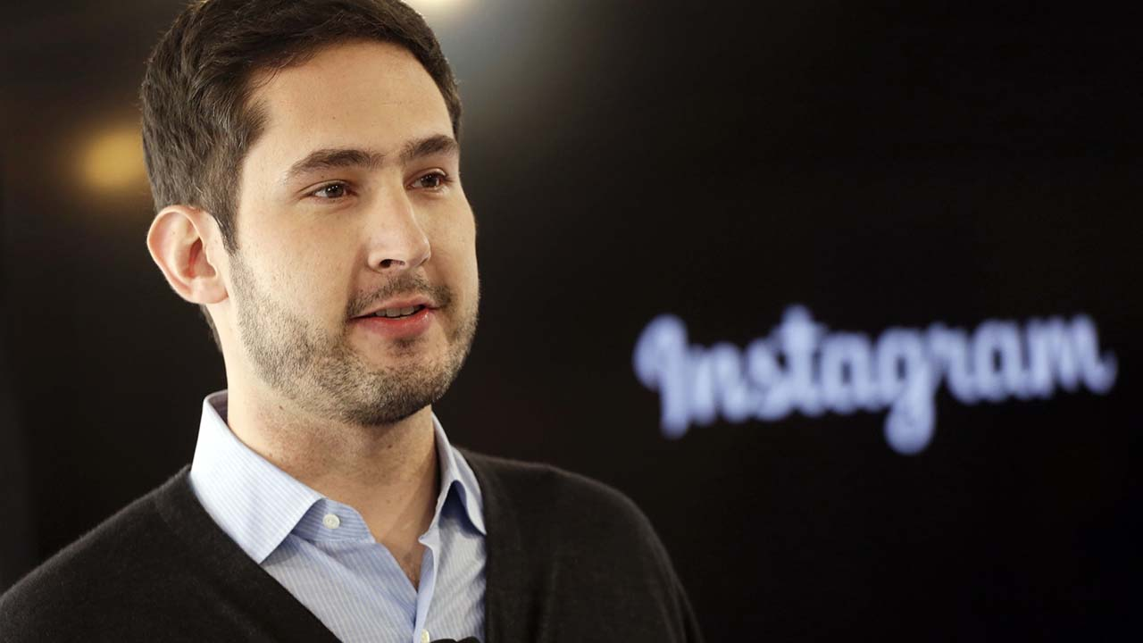 Kevin Systrom - Chief executive of Instagram